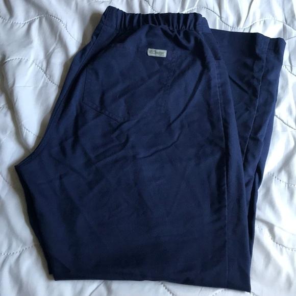 4affad1e737 Grey's Anatomy Pants   Greys Anatomy Navy Blue Scrub   Poshmark